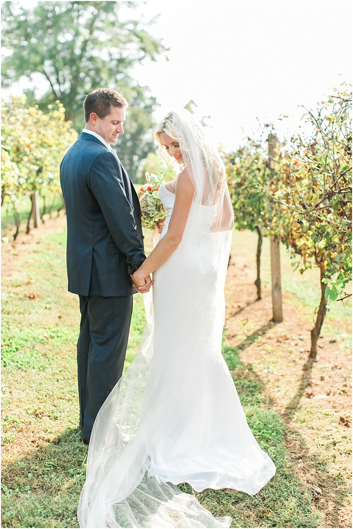 Romantic Wedding Photography in a Vineyard