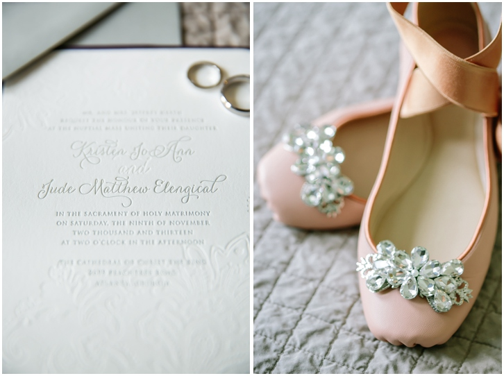 Ballerina Wedding Shoes for the Bride