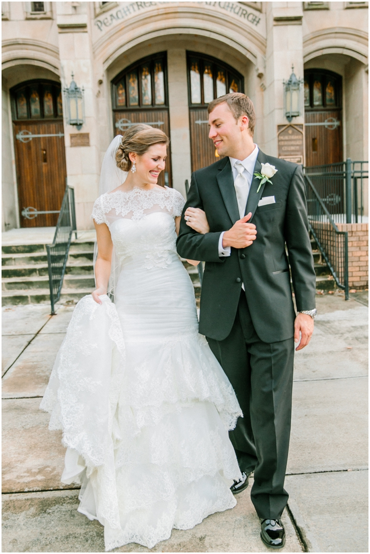 Peachtree Christian Church Wedding
