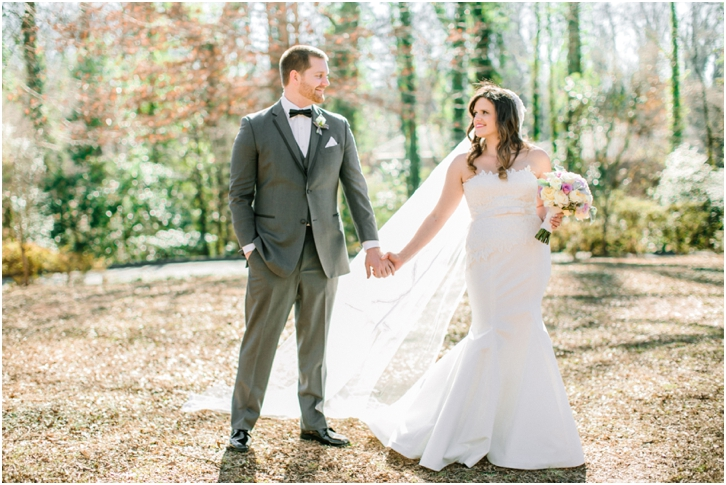 Winter Wedding Photos at Callanwolde Fine Arts Center