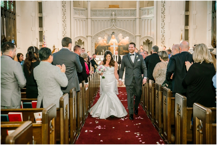 Peachtree Christian Church Wedding Ceremony Photos