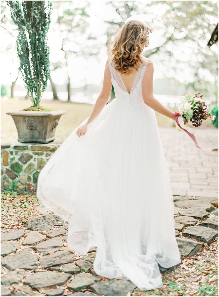 Romantic wedding Dress Flowy