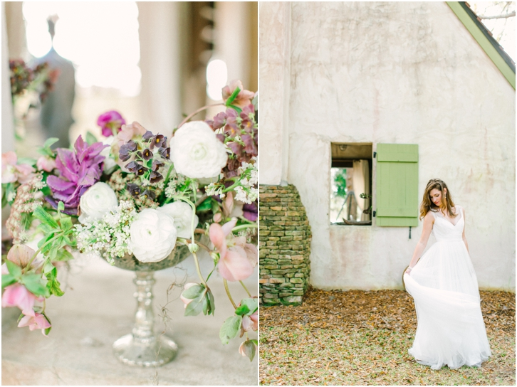 Romantic Wedding Photos at River Oaks Charleston