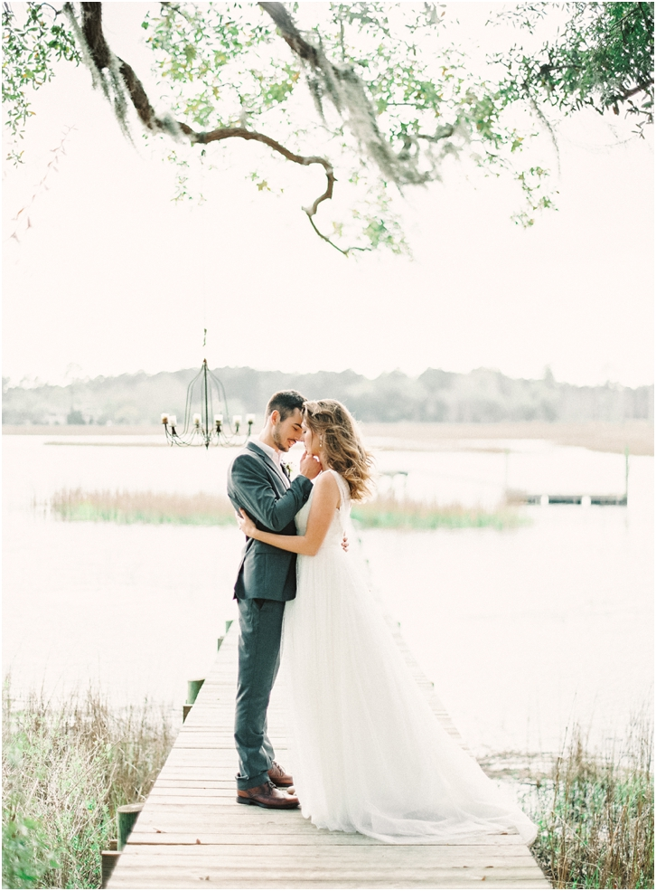 Romantic Wedding Photos Charleston