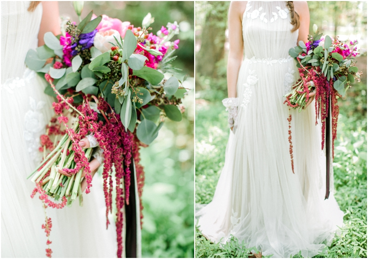 Wild Unique Bridal Bouquet