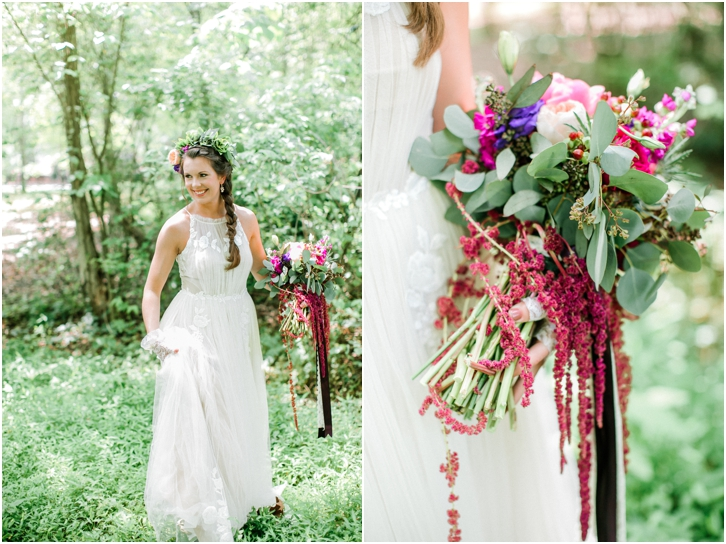 Organic Bridal wedding inspiration