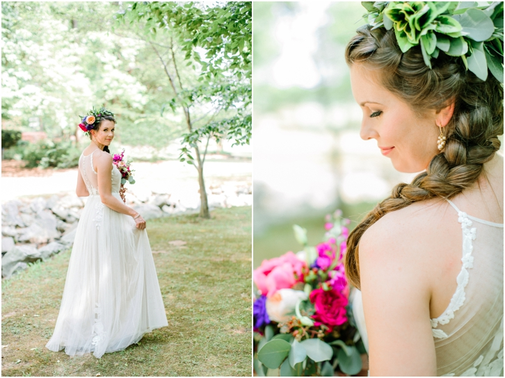 Organic Bridal Photos