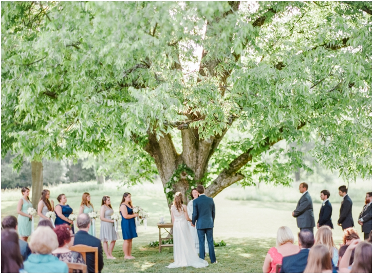 Ceremony on Film Photography Vinewood Weddings
