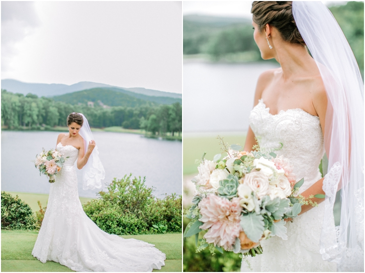 Romantic Wedding Photos Big Canoe