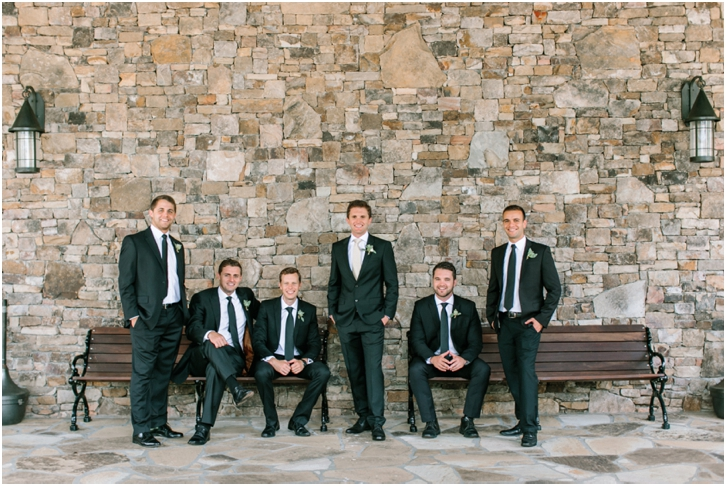 Groomsmen Photos Big Canoe Wedding