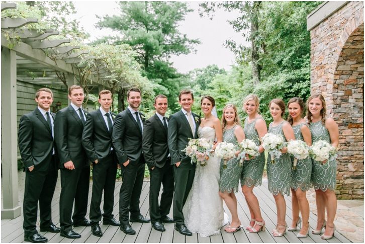 Bridal Party Big Canoe Wedding Photos