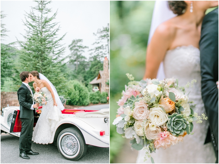 Vintage Car for Wedding Exit
