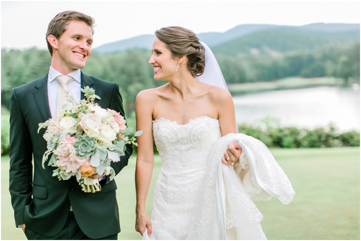 Romantic Mountain Wedding Photos Big Canoe