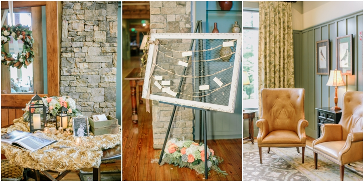 Big Canoe Wedding Decor Ideas