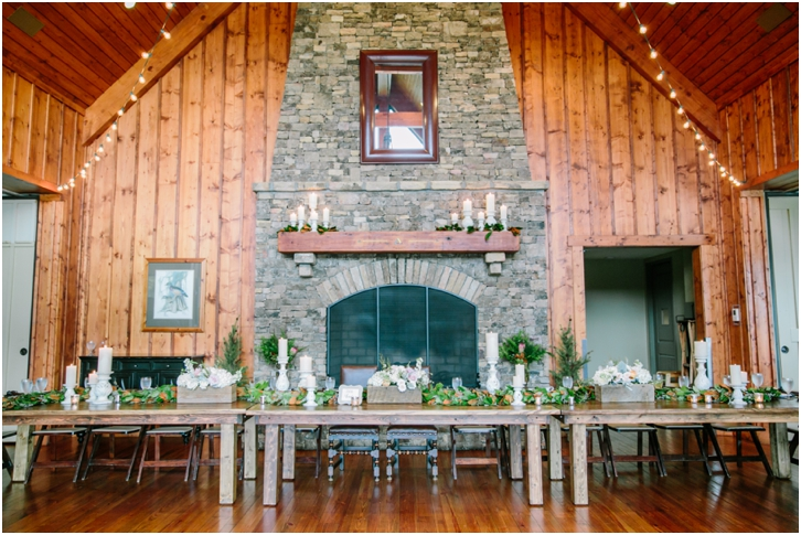 Big Canoe Wedding Estate Table Ideas