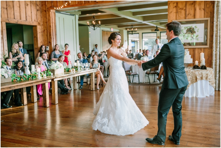 First Dance Big Canoe Wedding