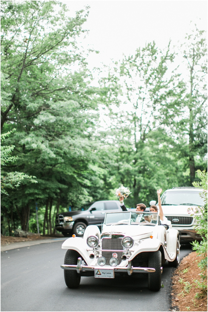 Romantic Big Canoe Georgia Wedding Photos