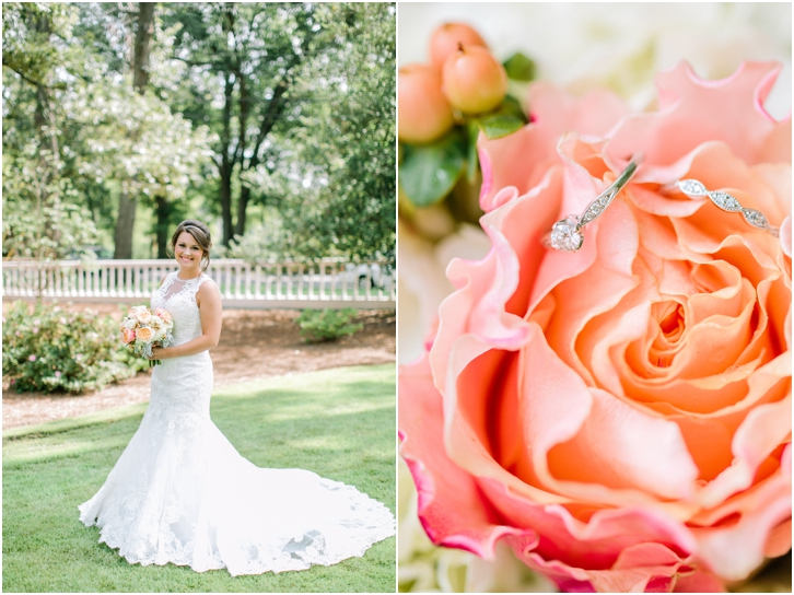 Bridal Photos at Primrose Cottage Wedding