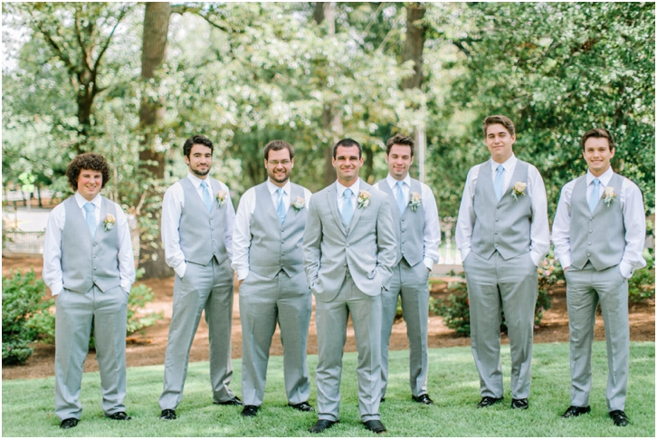 Groomsmen Primrose Cottage