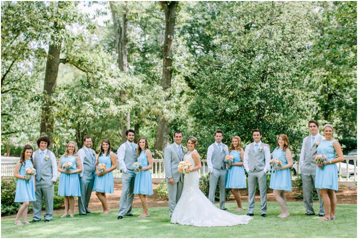 Bridal Party Primrose Cottage Wedding 0040