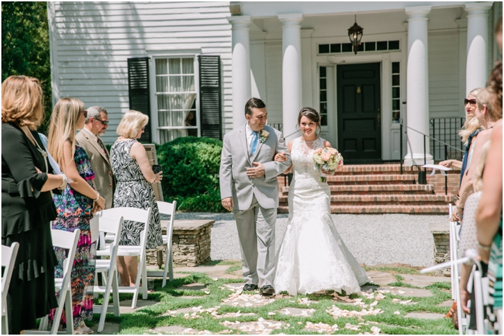 Wedding Ceremony Primrose Cottage Wedding 0044