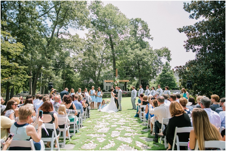 Primrose Cottage Wedding Ceremony