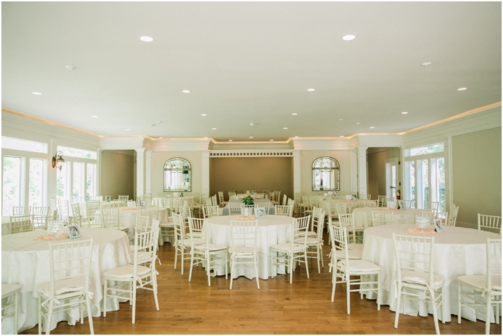 Wedding Reception Decor Primrose Cottage