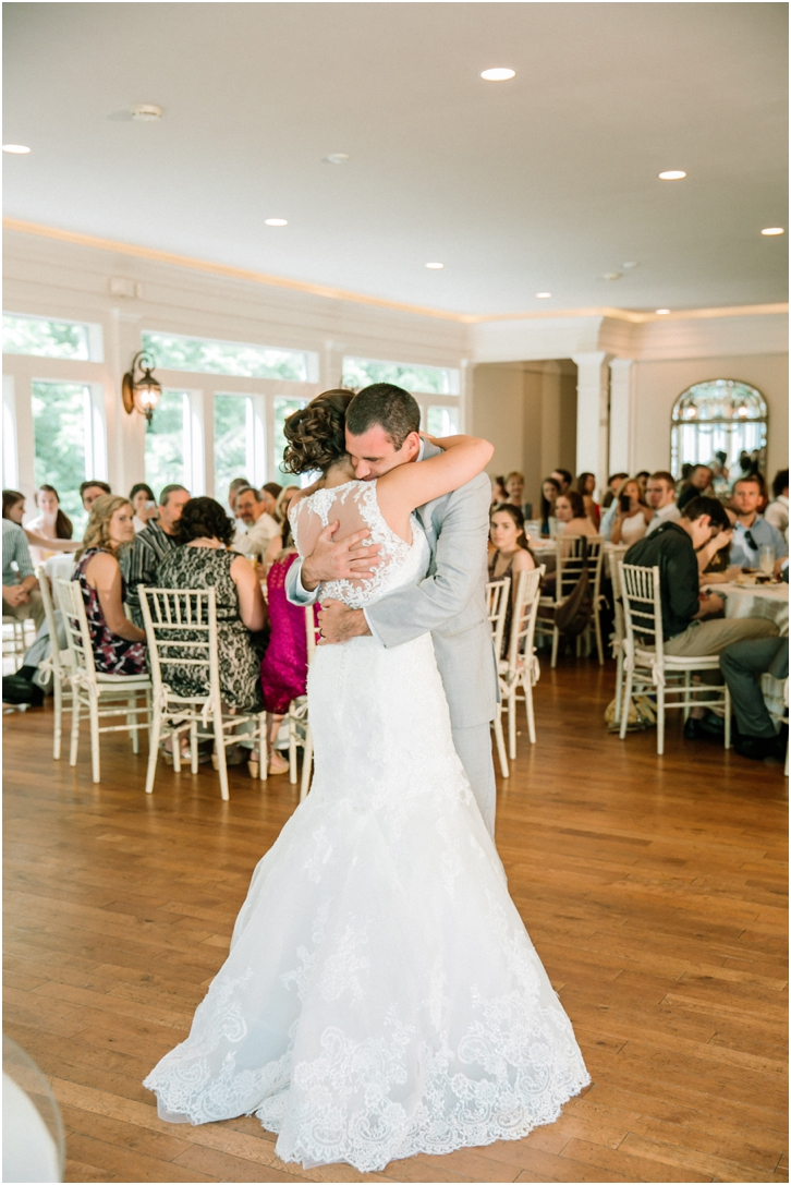 Bride and Groom First Dance Primrose Cottage