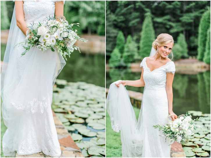 Gorgeous Natural Bridal Photos Foxhall Resort