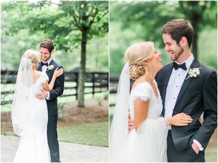 First Look Foxhall Resort Wedding