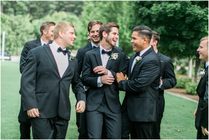 Groomsmen Foxhall Resort