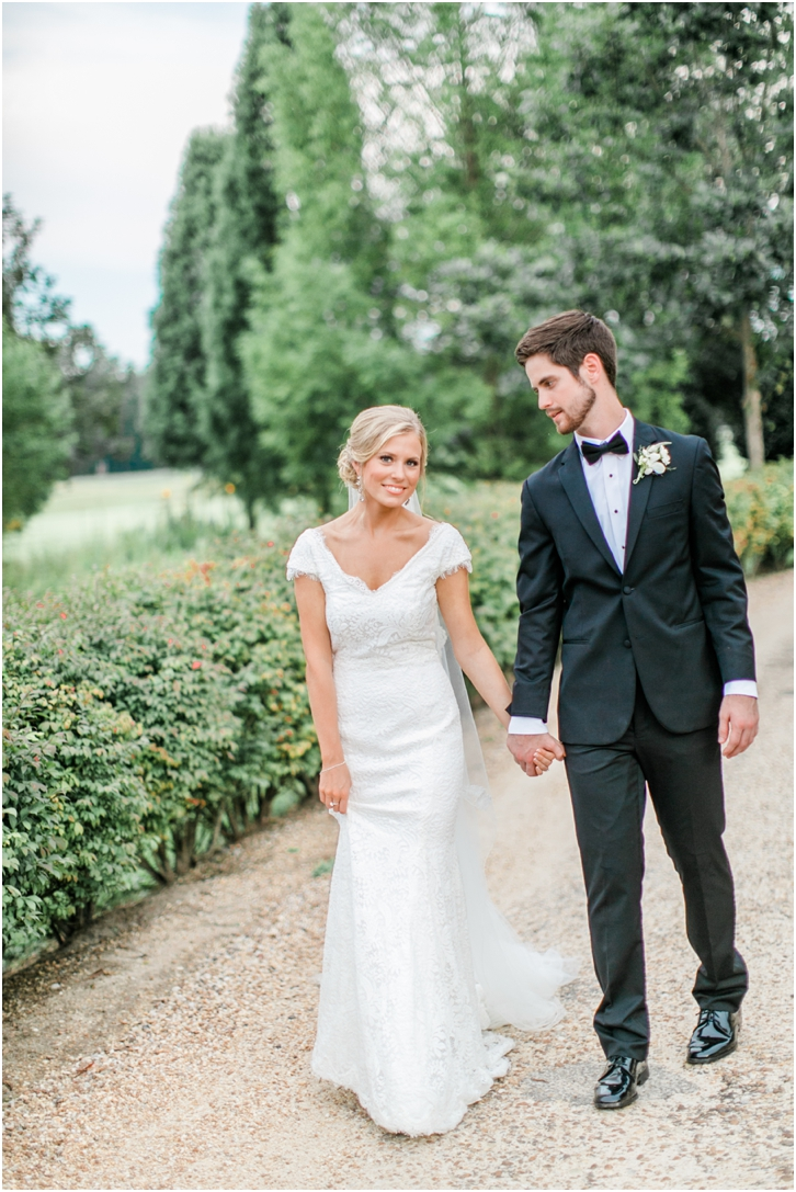 Natural Elegant Wedding Gown Foxhall Resort