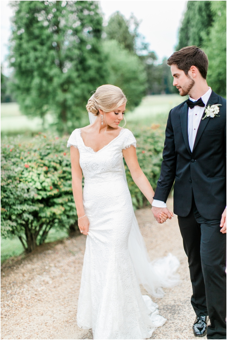 Romantic European Inspired Wedding Foxhall Resort Photos