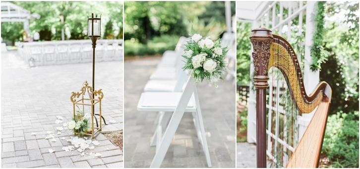 Romantic Outdoor Wedding ceremony decoration Ideas Foxhall Resort