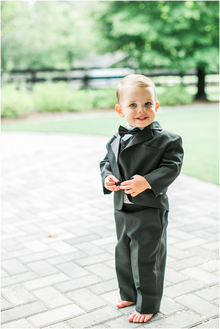 ring bearer Foxhall Resort