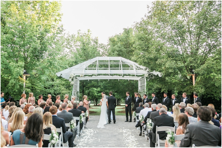 Romantic outdoor wedding venue atlanta