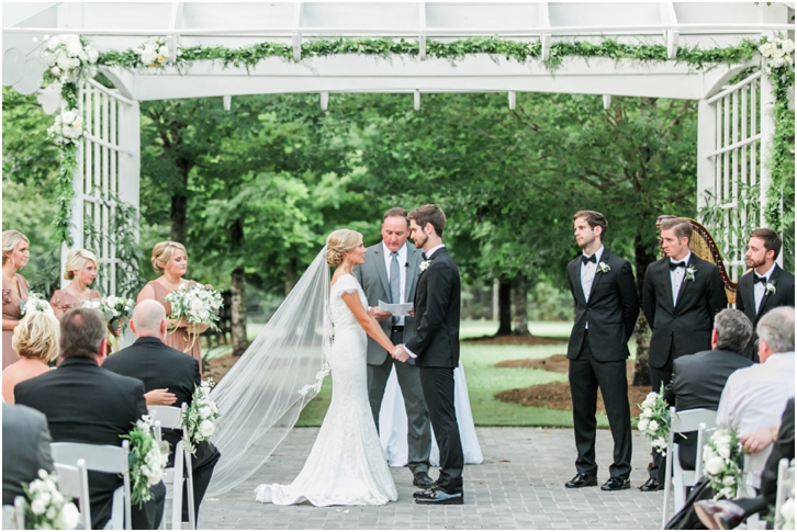 European Inspired Wedding Ceremony