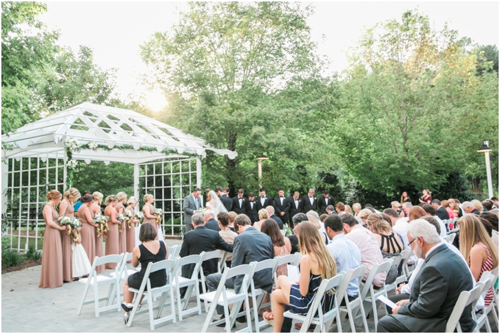 Foxhall Resort Wedding Ceremony