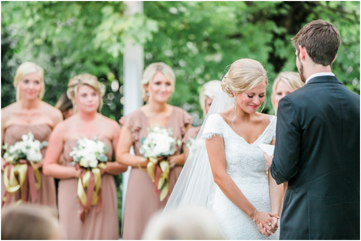 Foxhall Resort Wedding Ceremony Atlanta