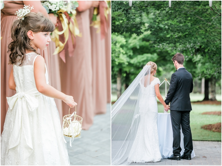 Outdoor Wedding ceremony Atlanta