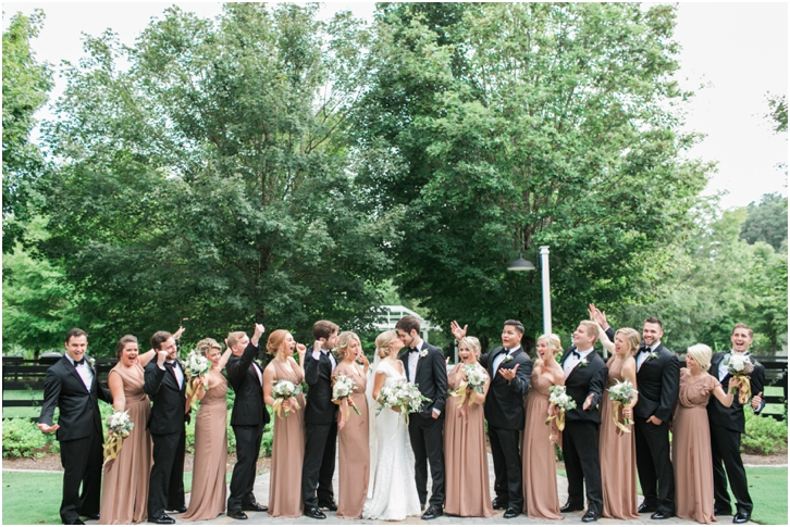 Elegant Bridal Party Photos Foxhall Resort