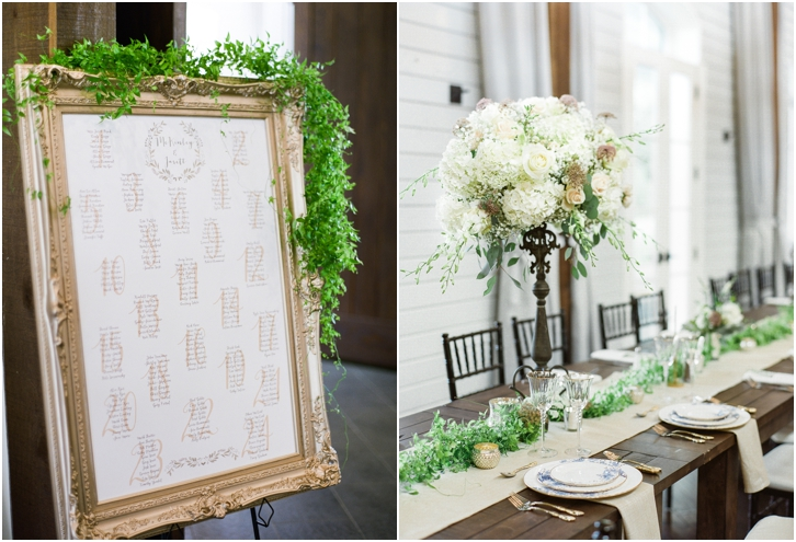 European Inspired Reception Decor Foxhall Resort