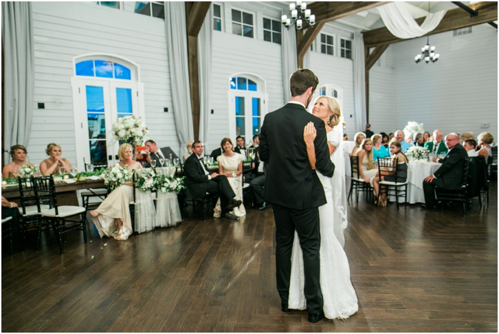 First Dance Foxhall Resort Wedding