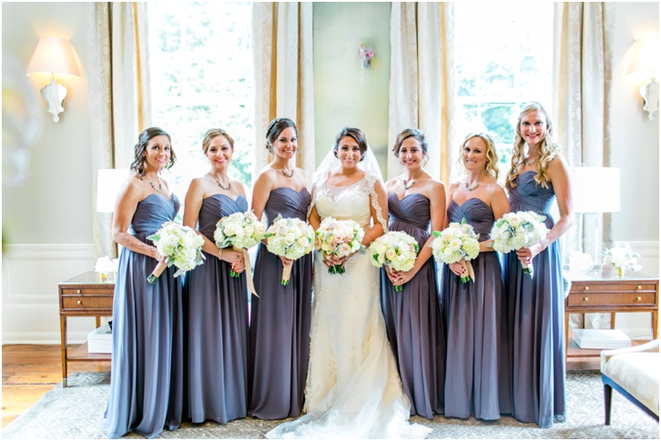 lavendar bridesmaid gowns