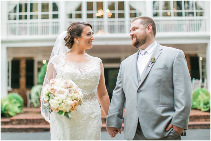 Bride and Groom at the Estate Atlanta