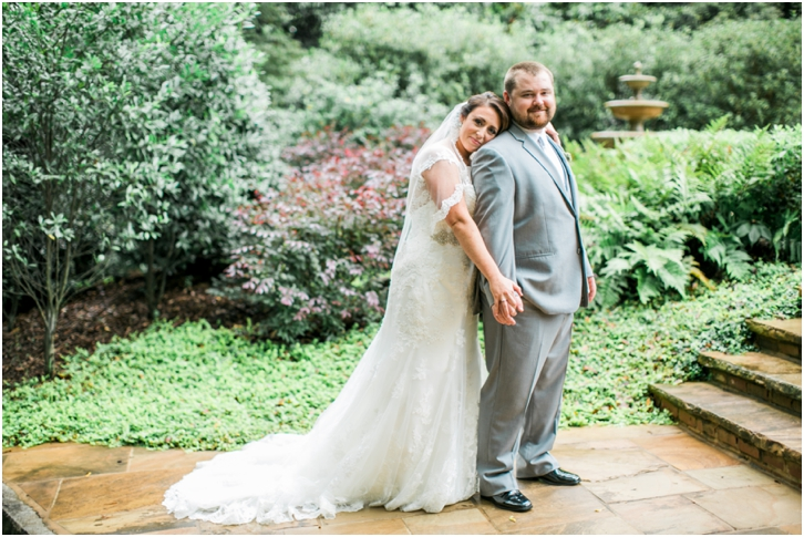 Romantic Bride and Groom Photos Estate Atlanta