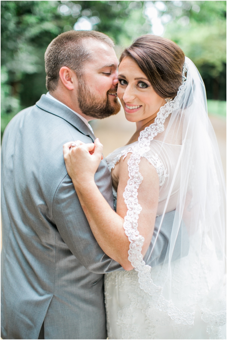 Photos of Bride and Groom at Estate Atlanta