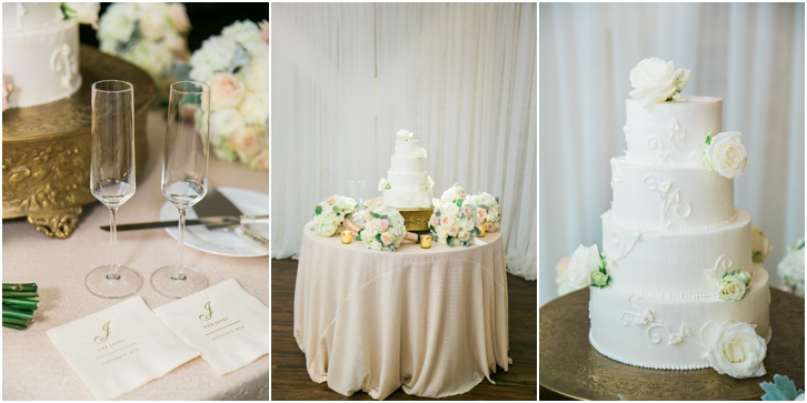 Elegant Wedding Cake Estate Atlanta