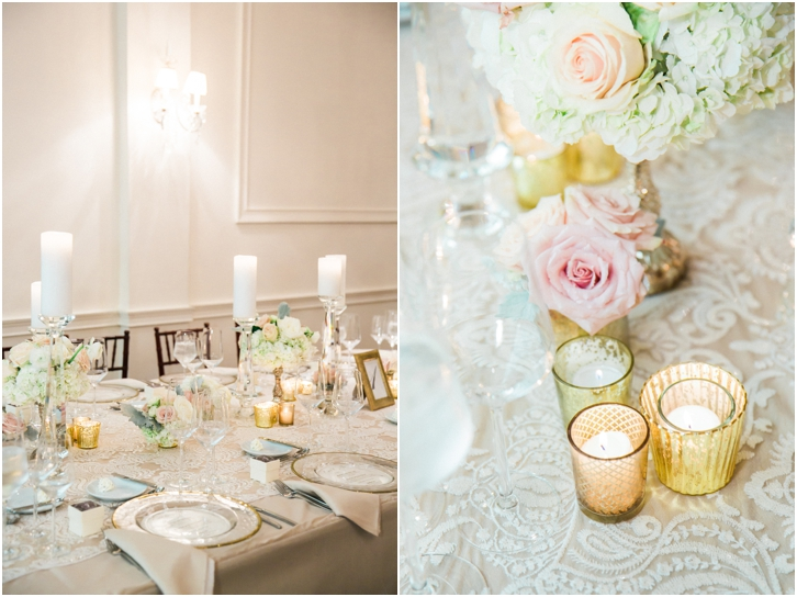 Romantic Wedding Reception Decor Estate Atlanta