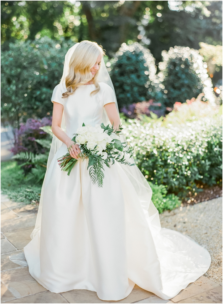 Gorgeous Bridal Photos at The Estate Atlanta
